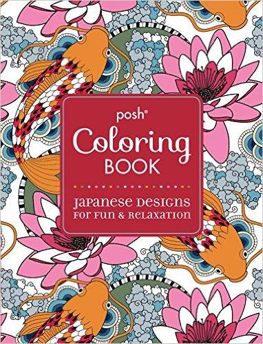 posh coloring books