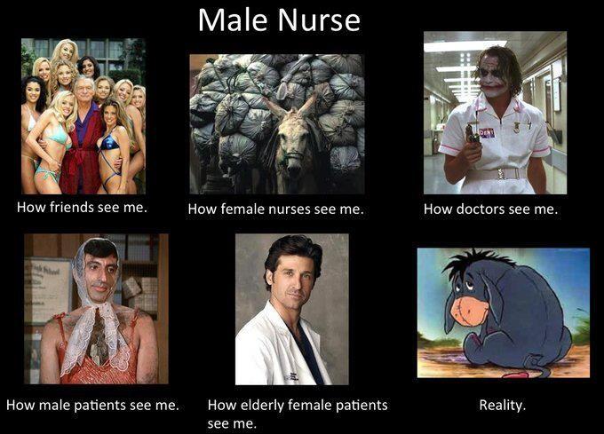 Image result for Male nurse memes
