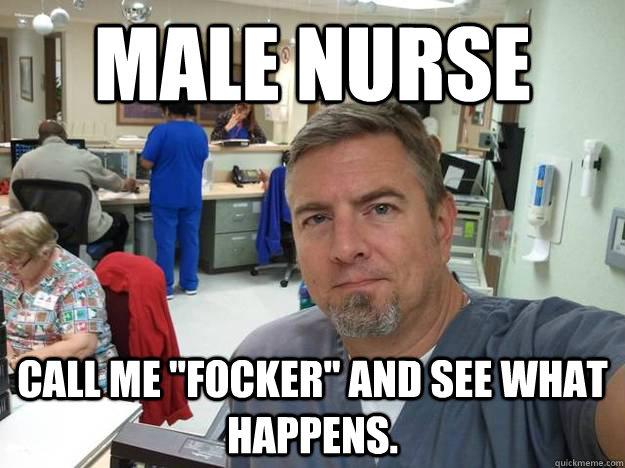 male nurse memes