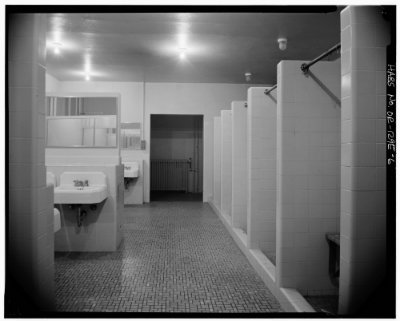 spooky bathroom