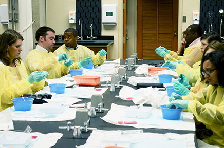 Forensic nursing training