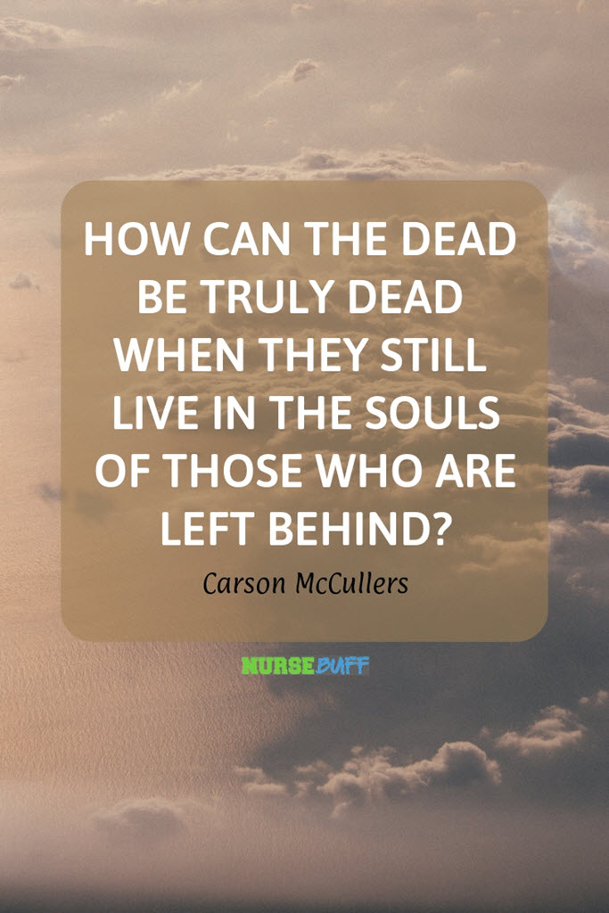 carson mccullers inspirational death quotes