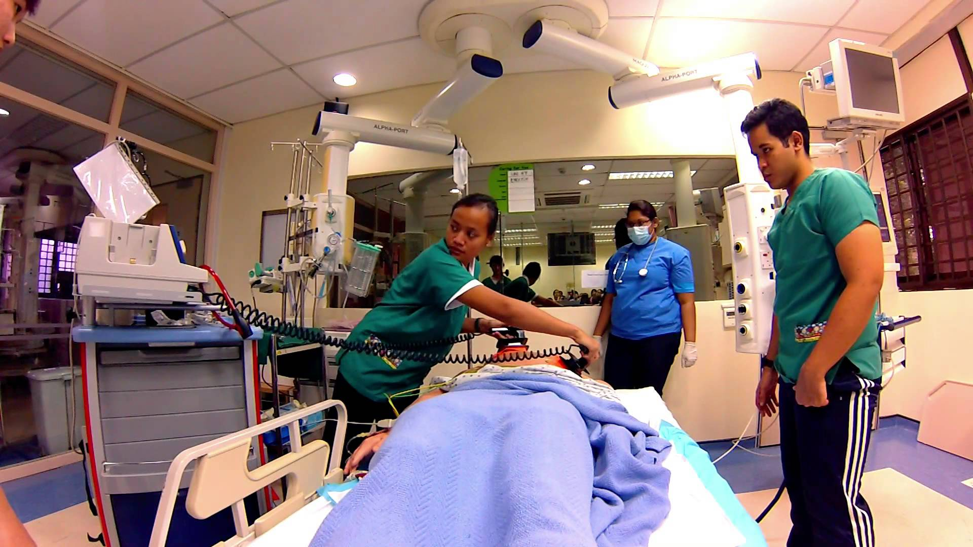 code blue hospital