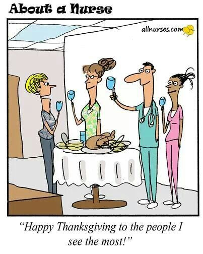happy thanksgiving nurses