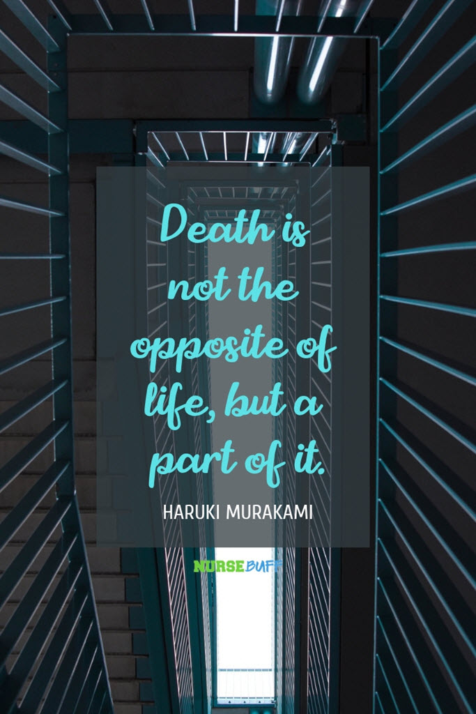 haruki murakami inspirational death quotes