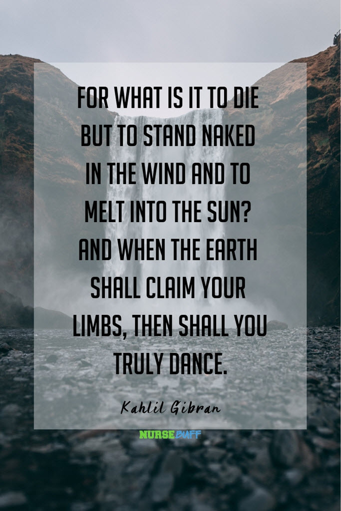 kahlil gibran inspirational death quotes