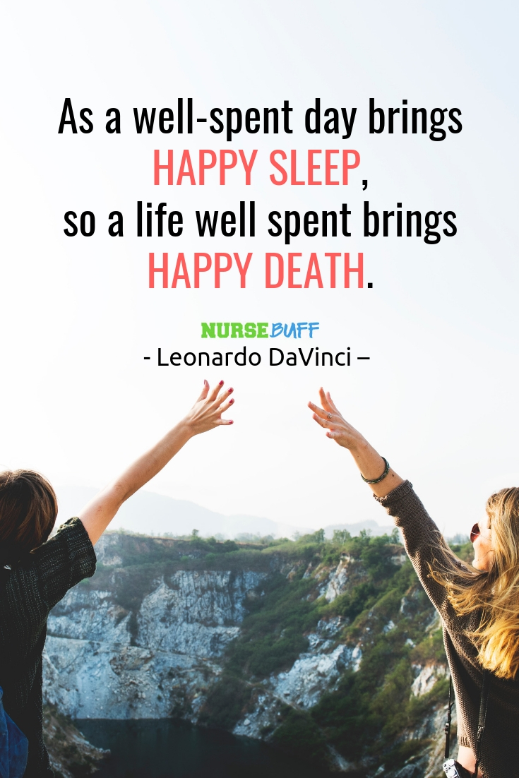 leonardo da vinci inspirational death quotes