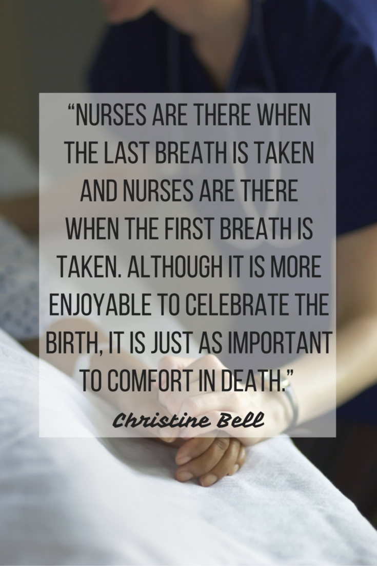 nurse death quote