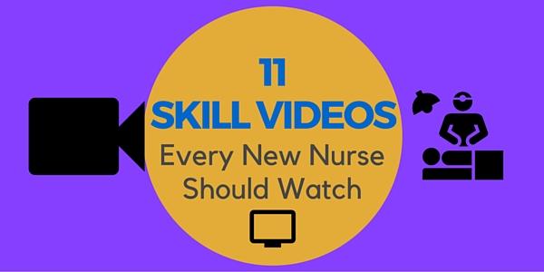 nursing skills video