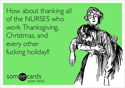 thanks nurses