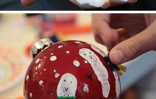 christmas balls handpainting