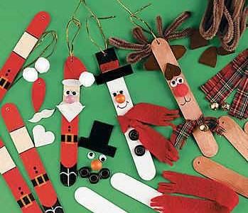 christmas sticks ornaments