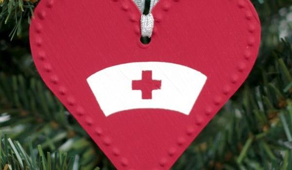 diy nurse ornaments