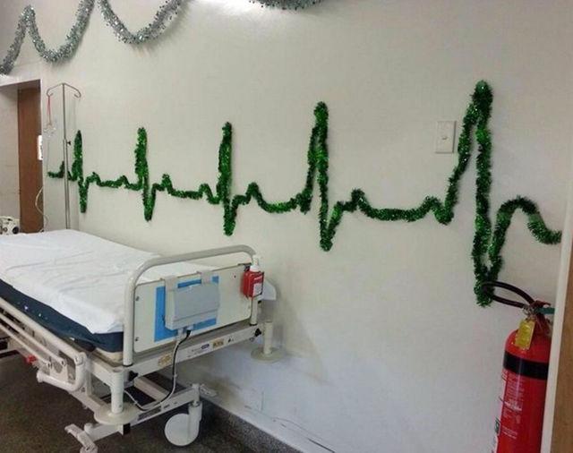 ekg nurse decor