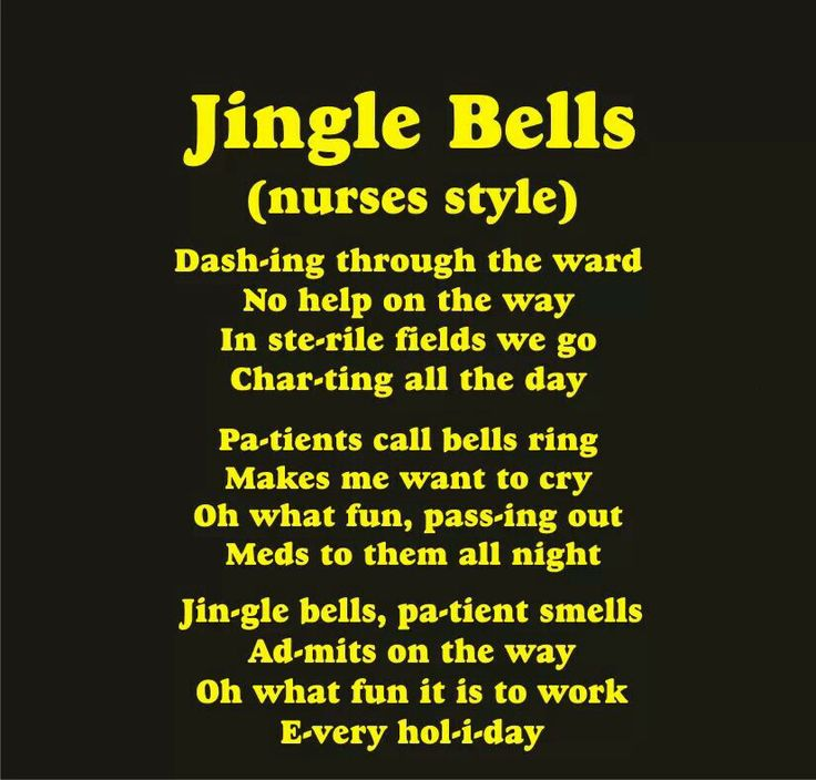 jingle bells for nurses