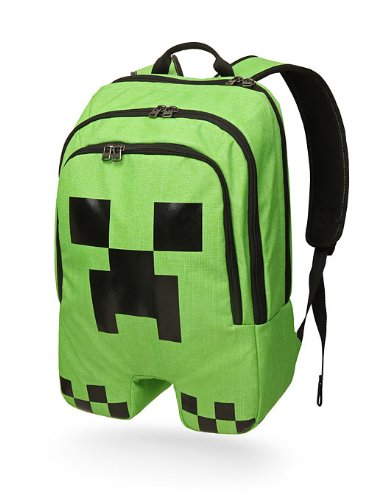 minecraft thinkgeek backpack