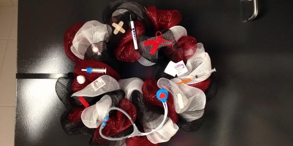 nurse wreath