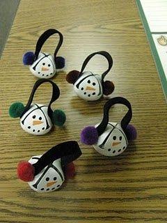 snowman bells