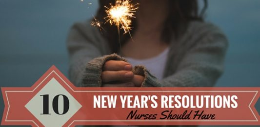 New Year's Resolutions for Nurses