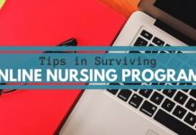 Tips in Surviving Online Nursing Programs