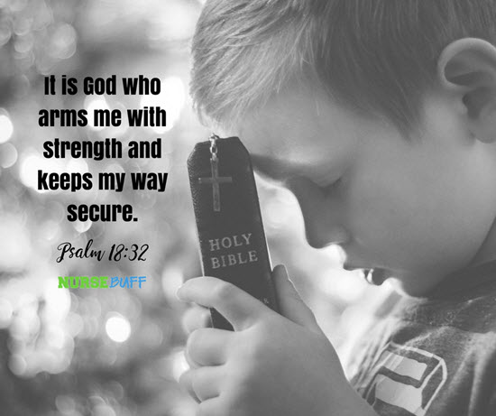 best bible verse for nurse