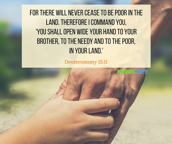 deuteronomy bible verse