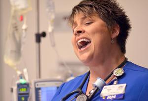 nurse singing