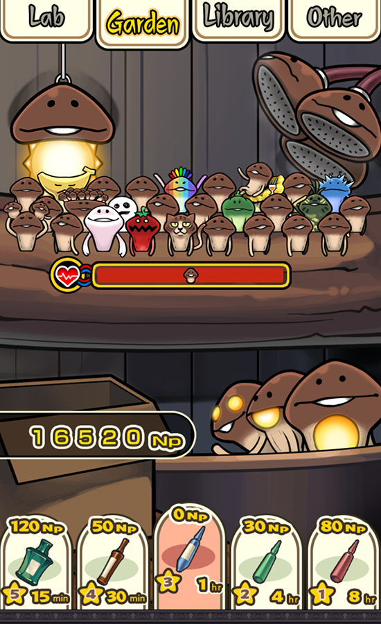 mushroom garden gameplay