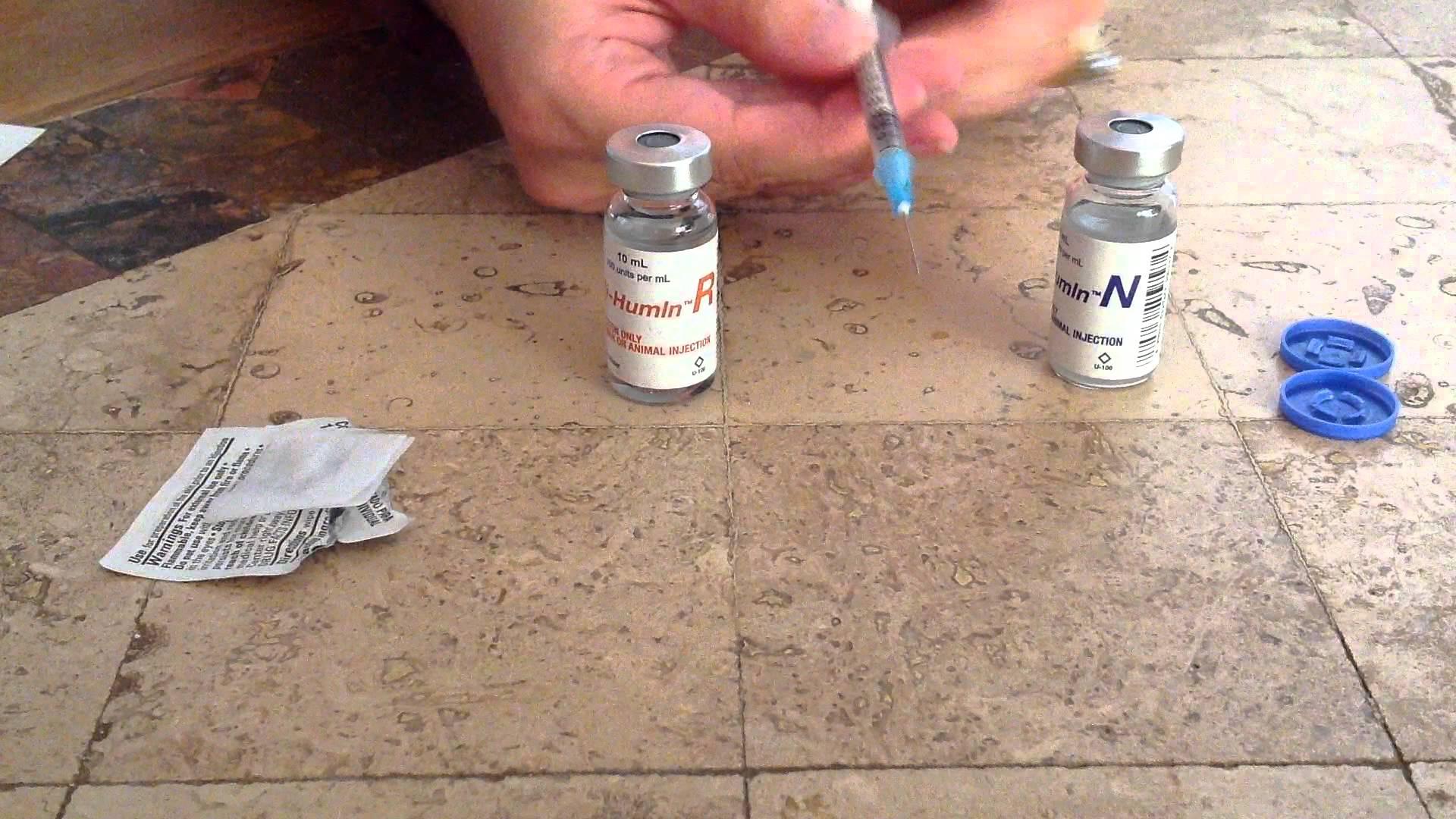 Mixing Insulin