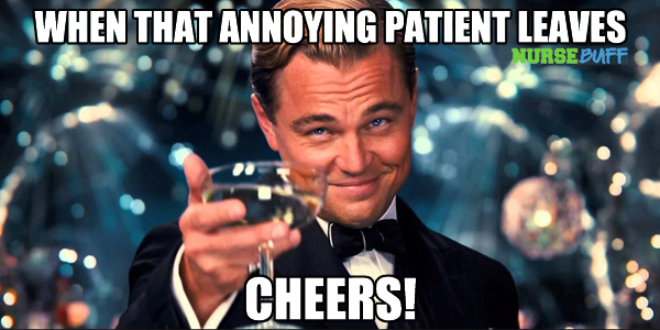 nursing meme annoying patient