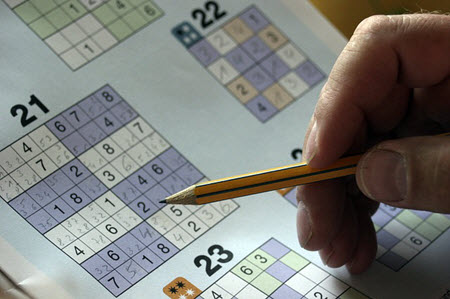fun activities for seniors sudoku