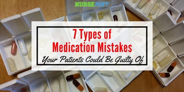 medicine mistakes