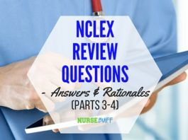 nclex sample questions answers