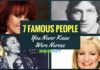 famous people who were nurses