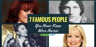 famous people who were nurses