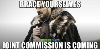 nurse meme joint commission