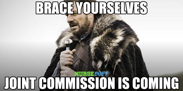 nurse meme joint commission