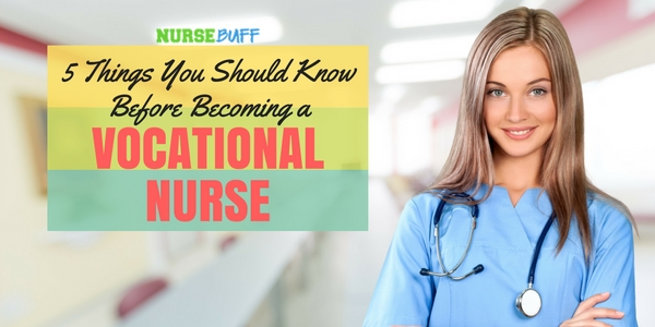 vocational nurse