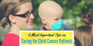 caring for child cancer patients