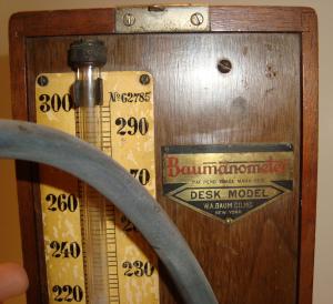 mercury-sphygmomanometer