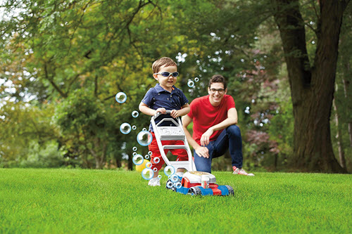 fisher price bubble mower