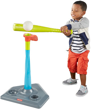 fisher price tee ball