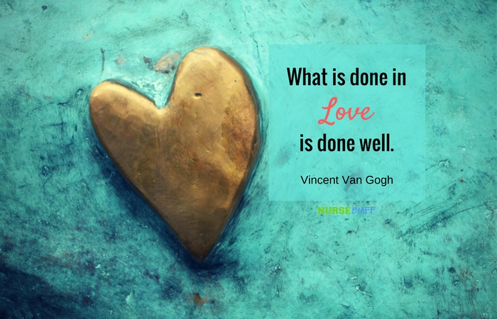 Todays Quote About Love Interesting Today's Quote From Van Gogh  Nursebuff