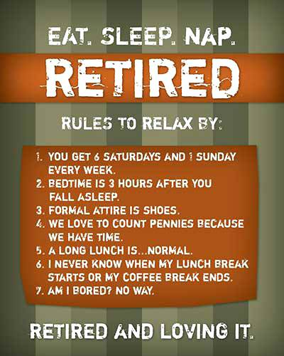 humorous retirement quotes