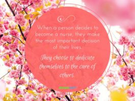nurse quote nurse dedication