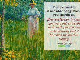 nurse quote van gogh