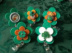 st patricks day id badge