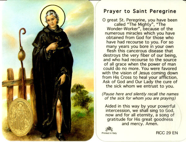 prayer to st peregrine