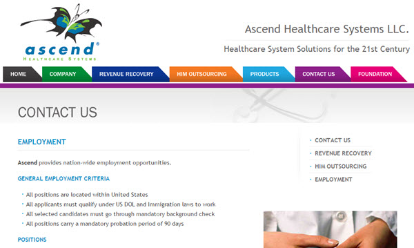 ascend healthcare systems
