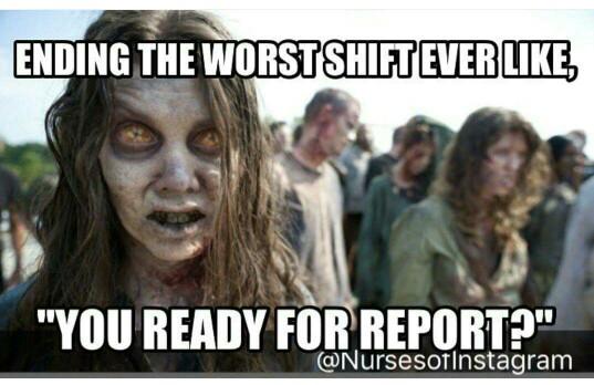 nurse meme zombie